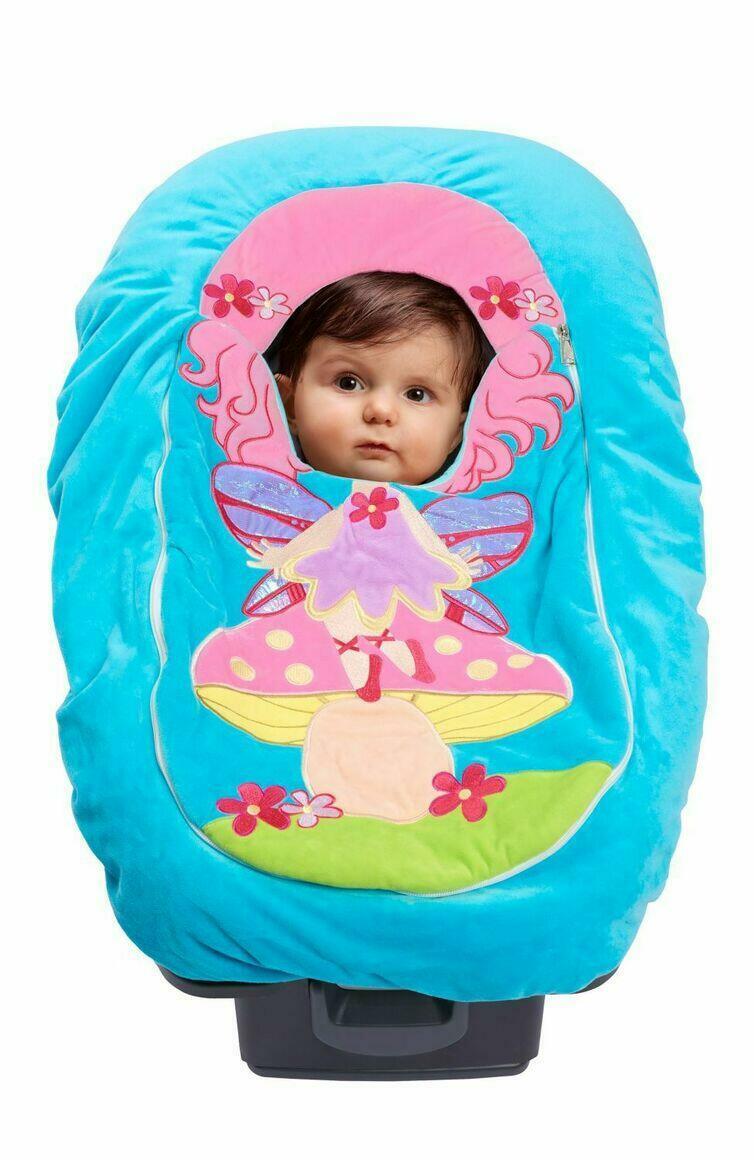 Car Seat Cuties Fairy: Infant Car Seat Cover   Trada Marketplace
