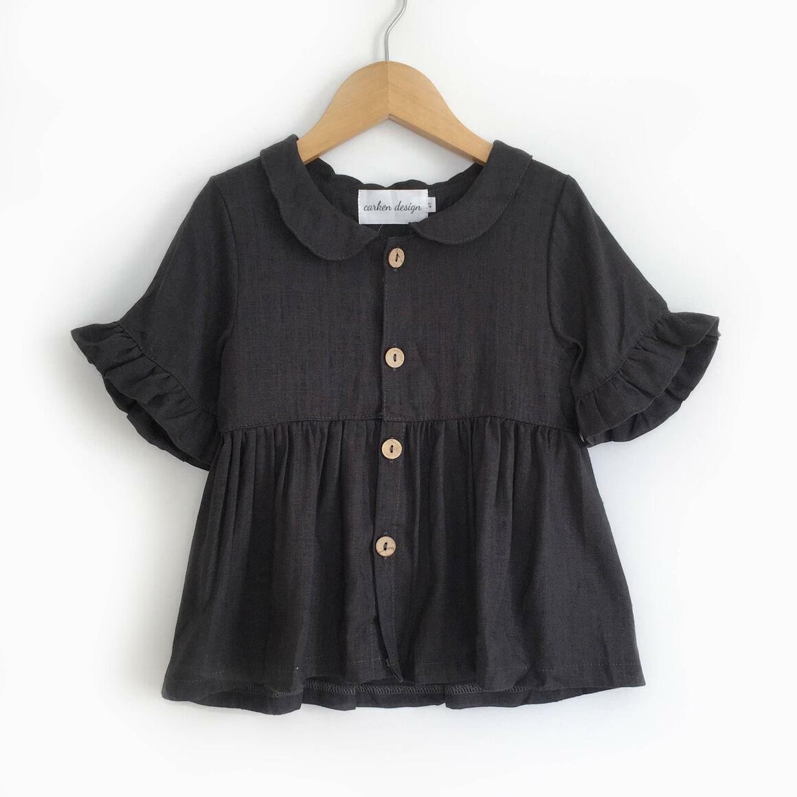 Black Linen Top | Trada Marketplace
