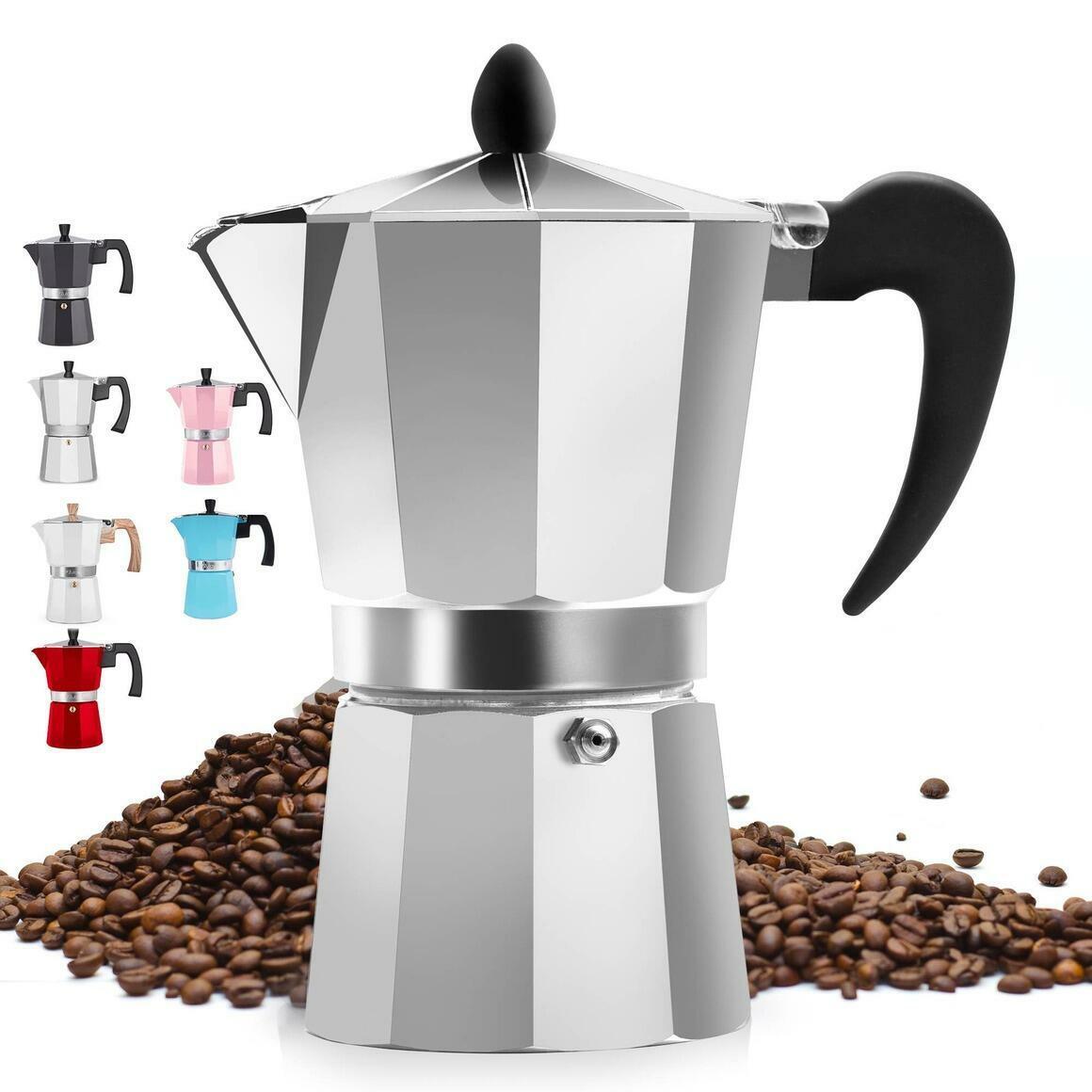 Classic Italian Style Espresso Maker - 3 Espresso Cups | Trada Marketplace
