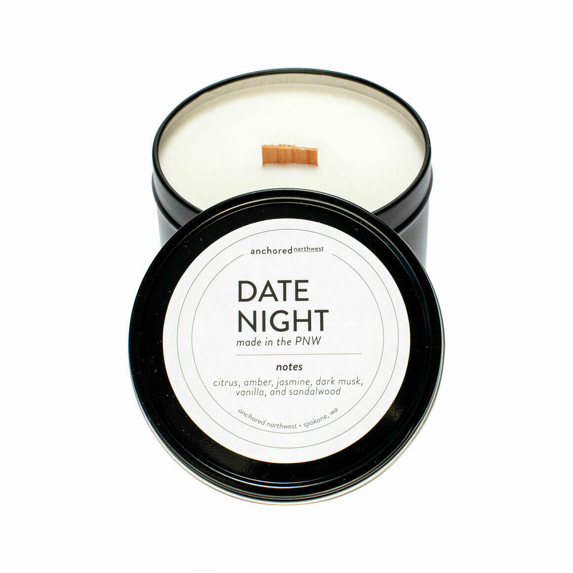 Date Night Black Travel Tin | Trada Marketplace