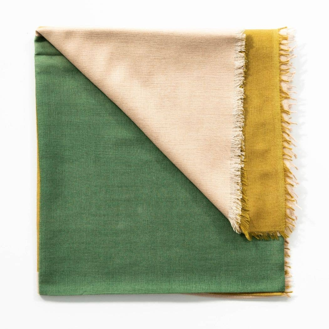 Blok Topaz - Cashmere Silk Scarf | Trada Marketplace