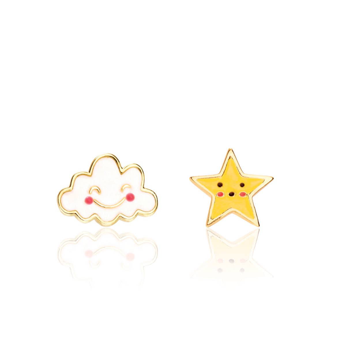 """""""The Perfect Pair""""- Head in the Clouds Cutie Studs 