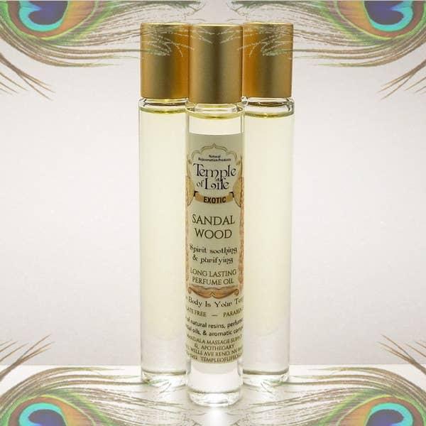 Exotic Perfume Oil - Sandalwood   Trada Marketplace