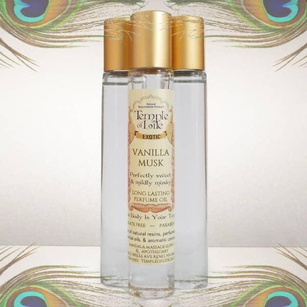 Exotic Perfume Oil - Vanilla Musk   Trada Marketplace