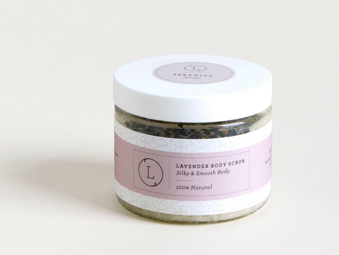 Body Salt Scrub - Lavender scented-100% Natural Salts&Oils | Trada Marketplace