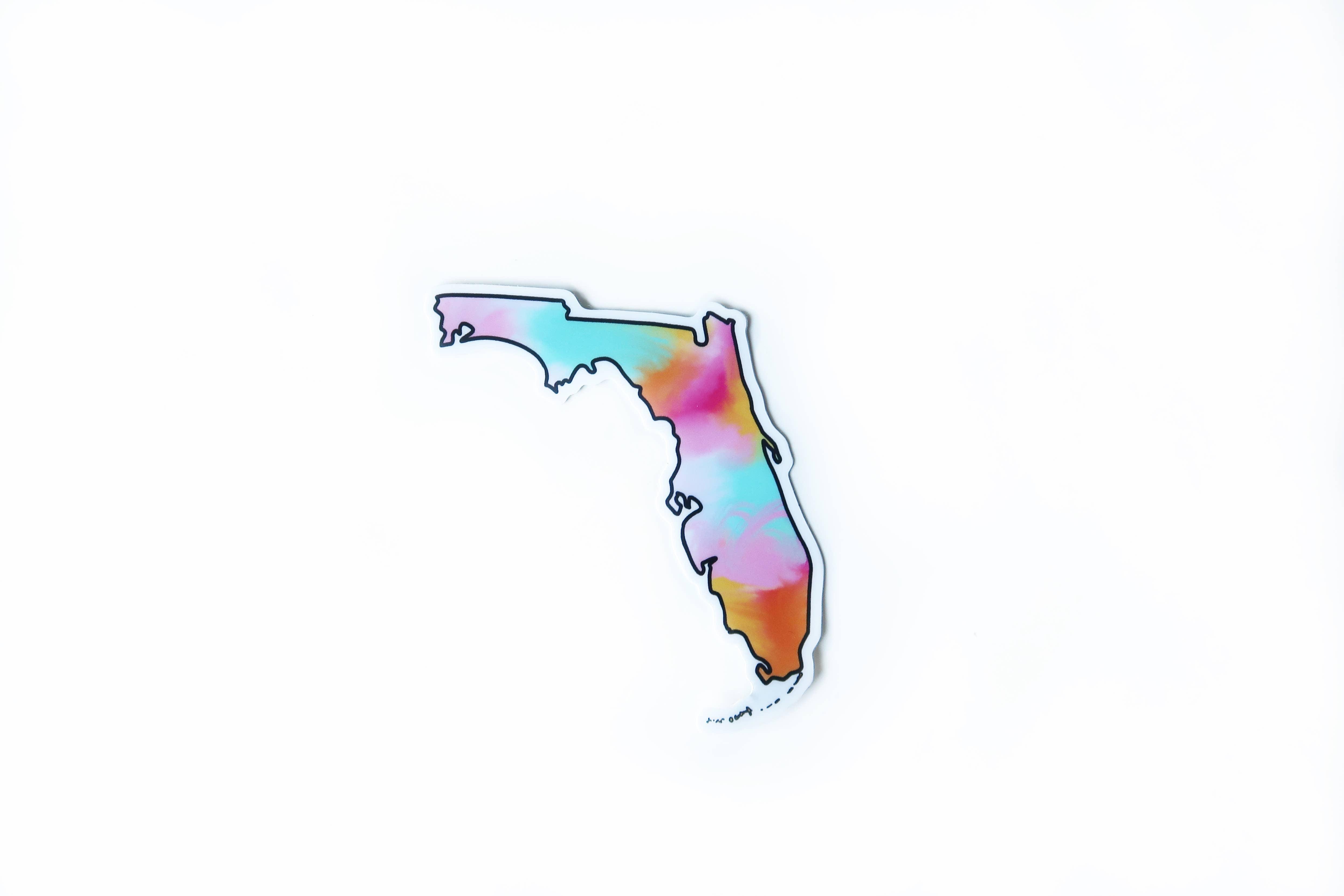 Florida Colorful Sticker | Trada Marketplace