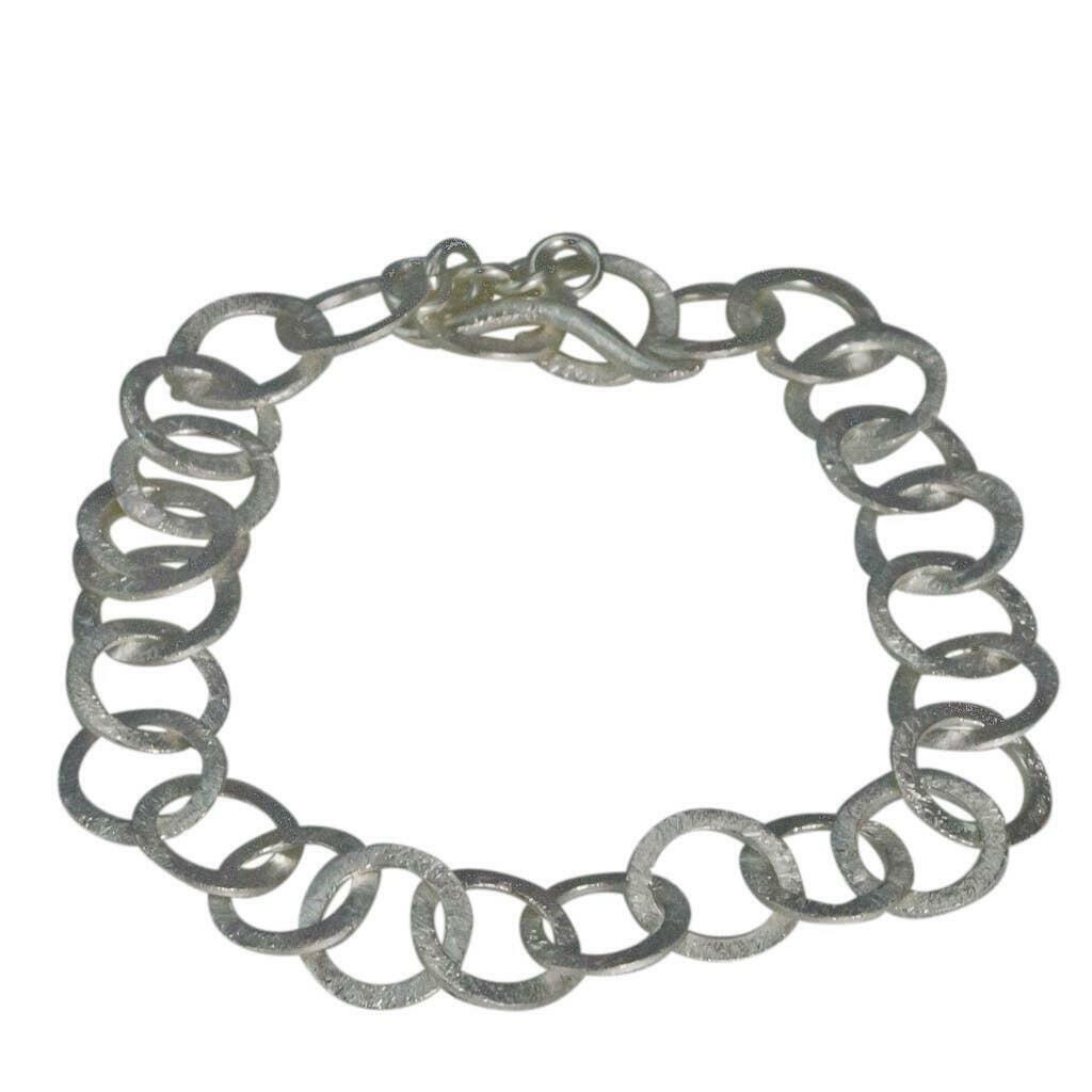 20% OFF Brushed Sterling Links Bracelet   Trada Marketplace