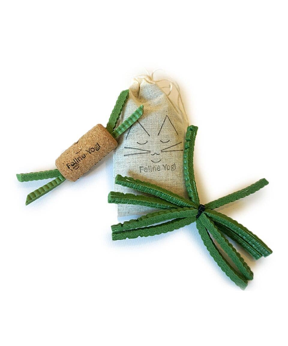 Green Cat Toy Gift Set   Trada Marketplace