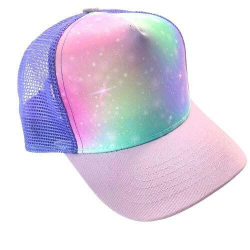Purple Rainbow Trucker Hat | Trada Marketplace