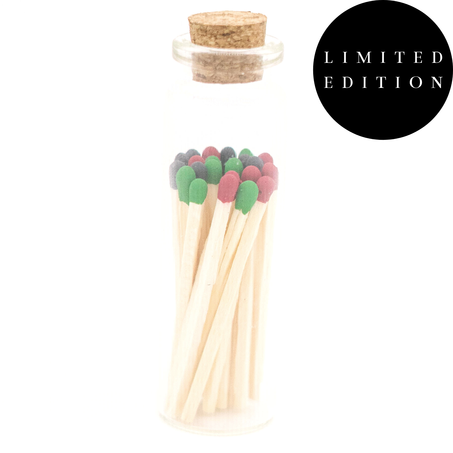 1.85in Kwanzaa / Juneteenth Colored Tips Matches In Jar   Trada Marketplace