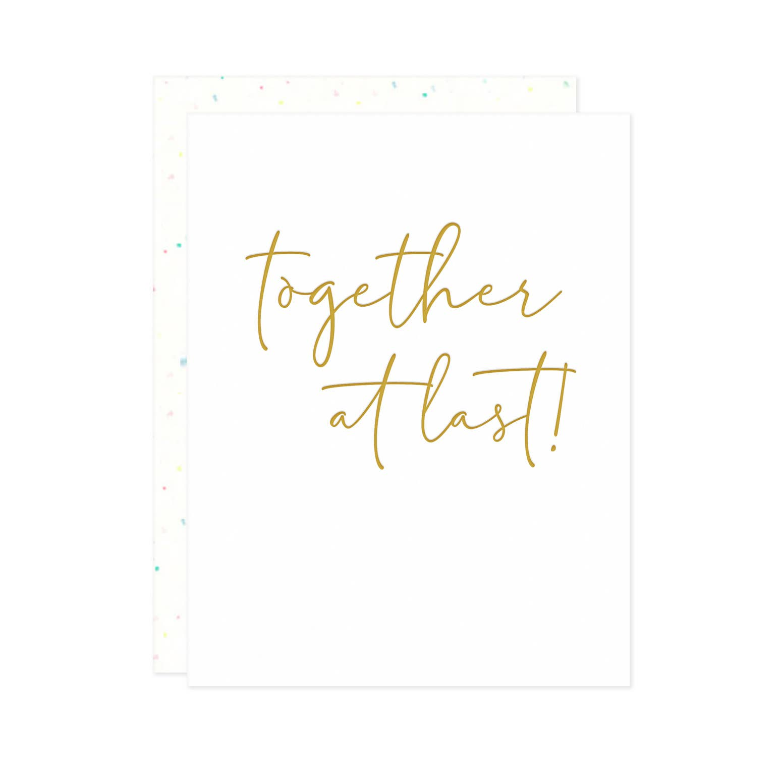 Together at Last Card | Trada Marketplace