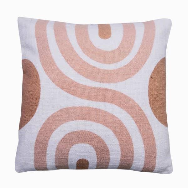 Sunset Terracota Cushion - 18x18 inch   Trada Marketplace