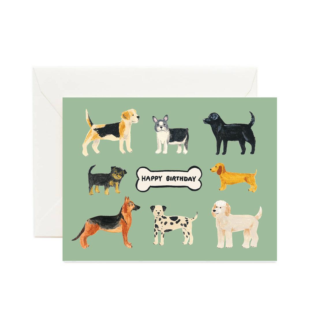 Birthday Dogs (Box of 8)   Trada Marketplace
