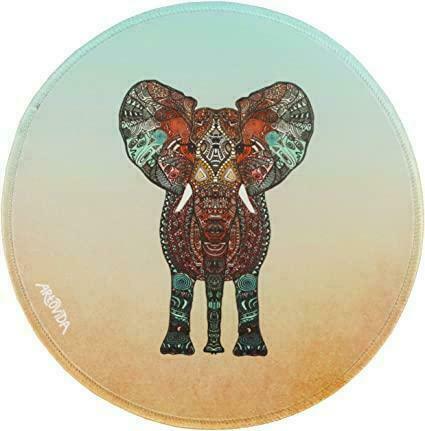 Mouse Pad - Monika Strigel - Boho Summer Elephant | Trada Marketplace