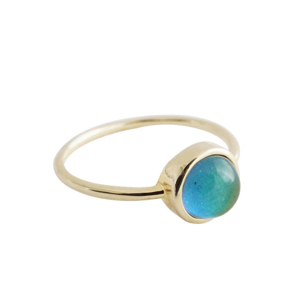 Gold - Mini Mood Ring   Trada Marketplace