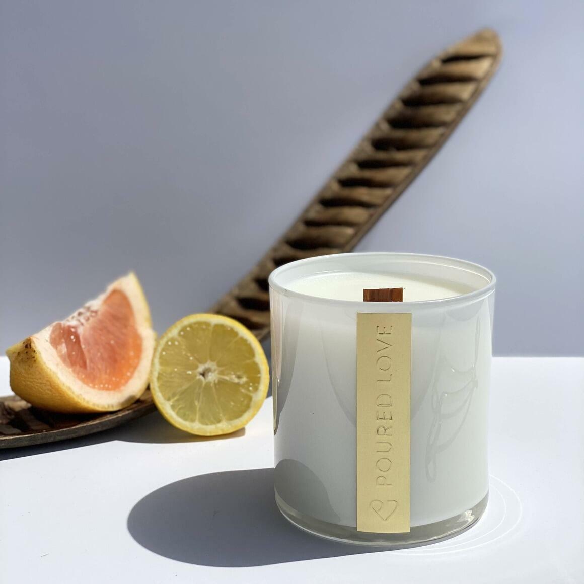 Citrus Tangerine - Scented Candle | Trada Marketplace