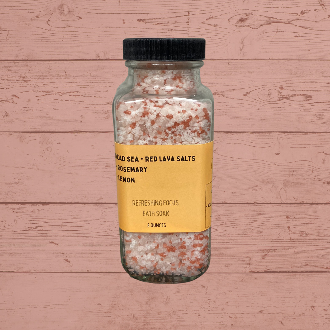 Rosemary + Orange Bath Salts   Trada Marketplace
