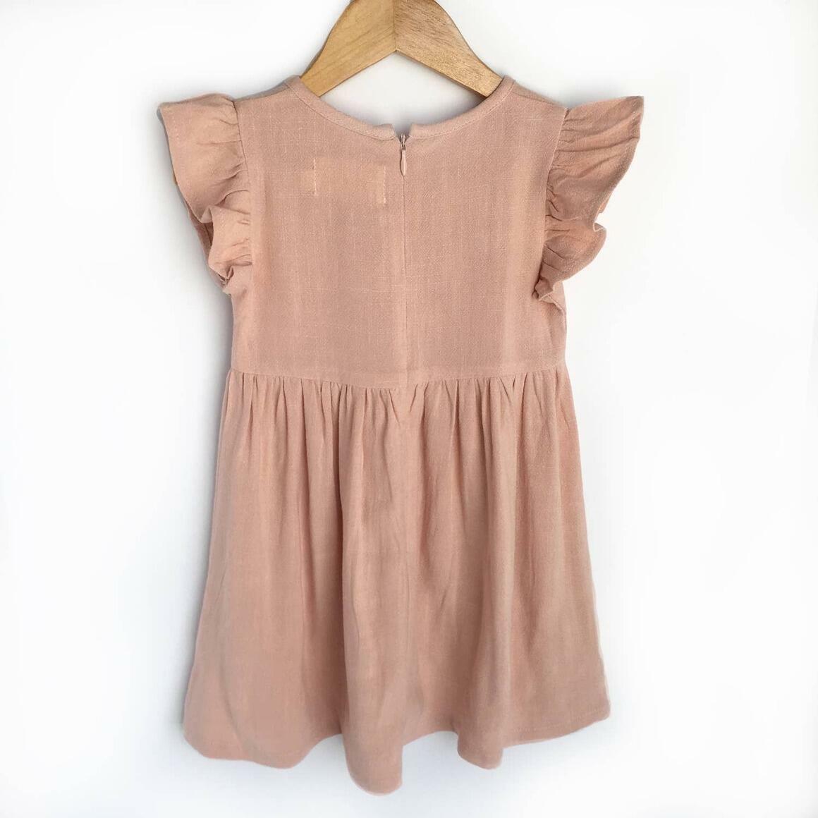 Pink Linen Dress | Trada Marketplace