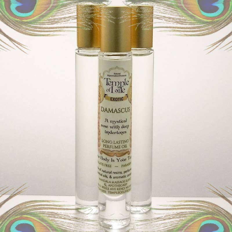 Exotic Perfume Oil - Damascus   Trada Marketplace