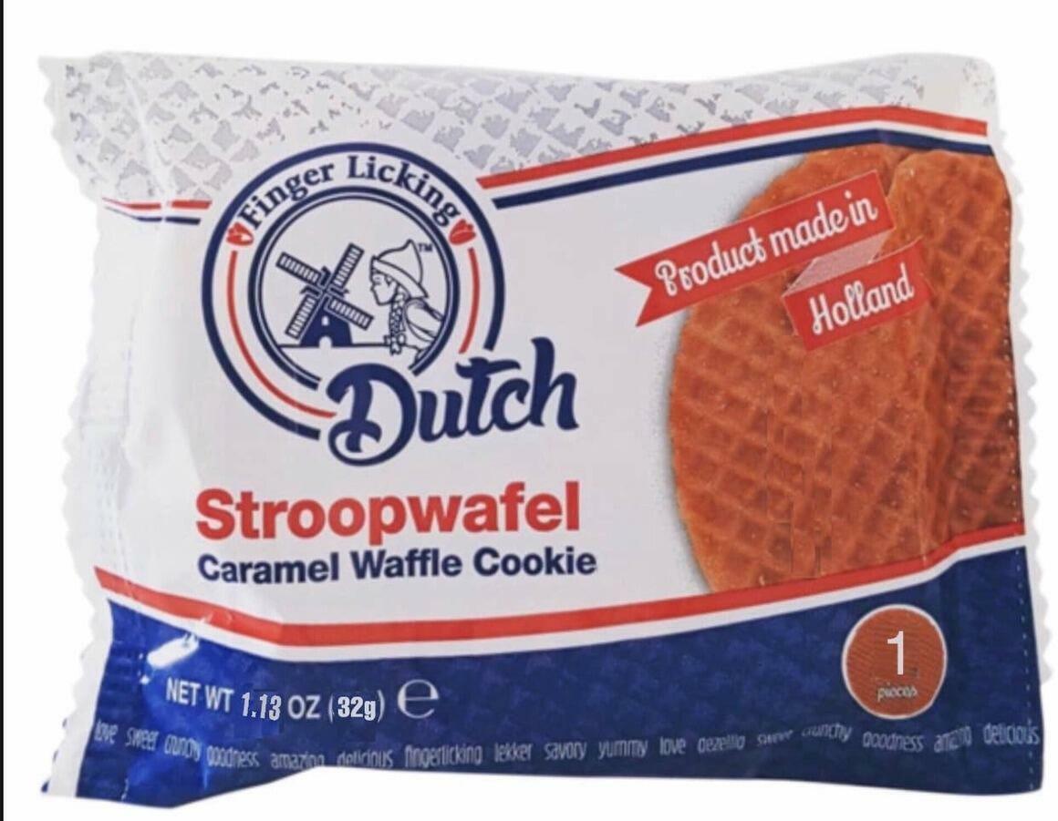 Dutch Caramel Stroopwafels Singles   Trada Marketplace