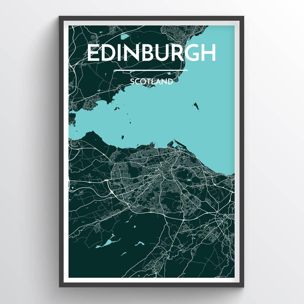 Edinburgh City Map | Trada Marketplace