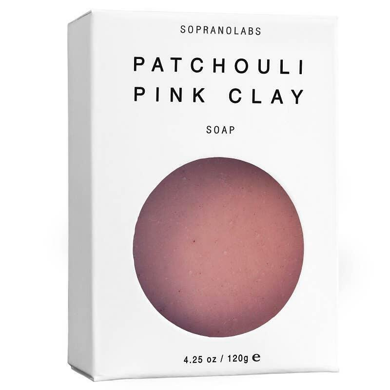 Patchouli Pink Clay Vegan Soap. SPA Gift for her/him   Trada Marketplace