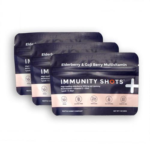Immune Health Gummies Sample Pack Immunity Shots (3-Pack)   Trada Marketplace