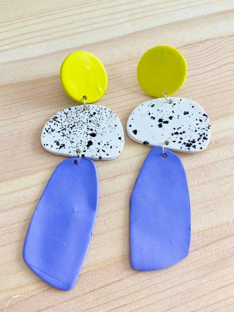 Joy-Speckled Earrings | Trada Marketplace