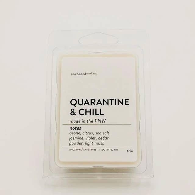 Quarantine & Chill Wax Melt | Trada Marketplace