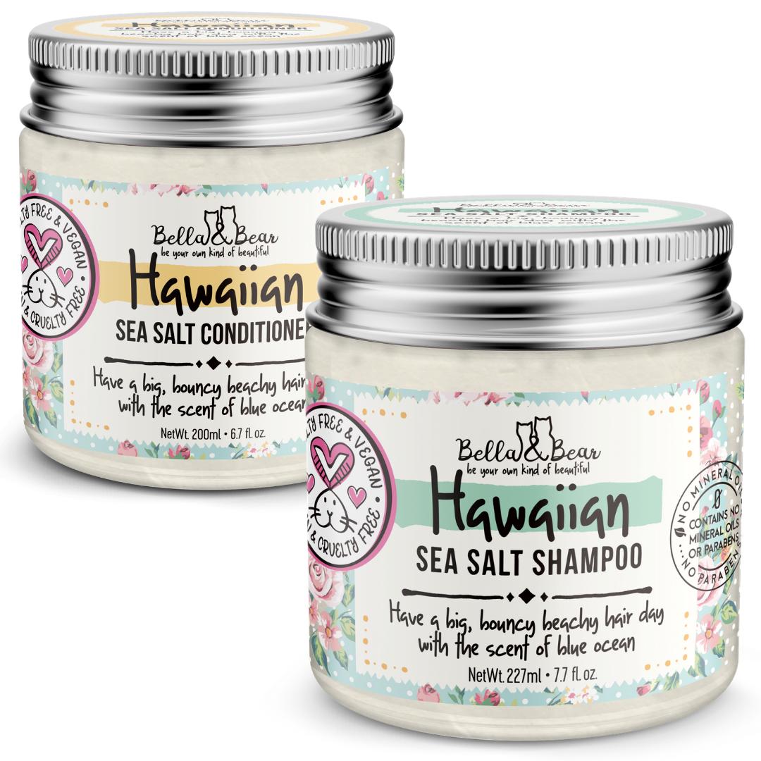 Hawaiian Sea Salt Shampoo & Conditioner 6.7oz   Trada Marketplace