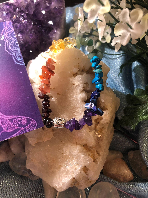 Chakra Buddha Bracelet | Trada Marketplace