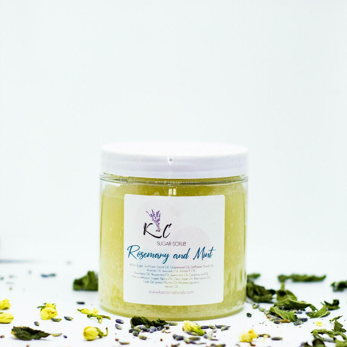 Rosemary & Mint Sugar Scrub | Trada Marketplace