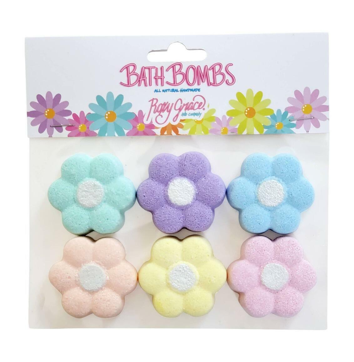 Mini Daisy Bath Bomb - Pack of 6 | Trada Marketplace