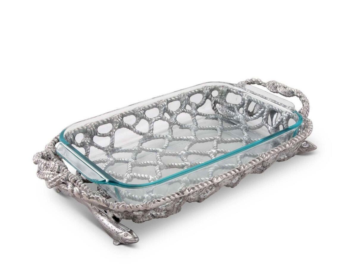 Fish Net Casserole / Pyrex Holder | Trada Marketplace