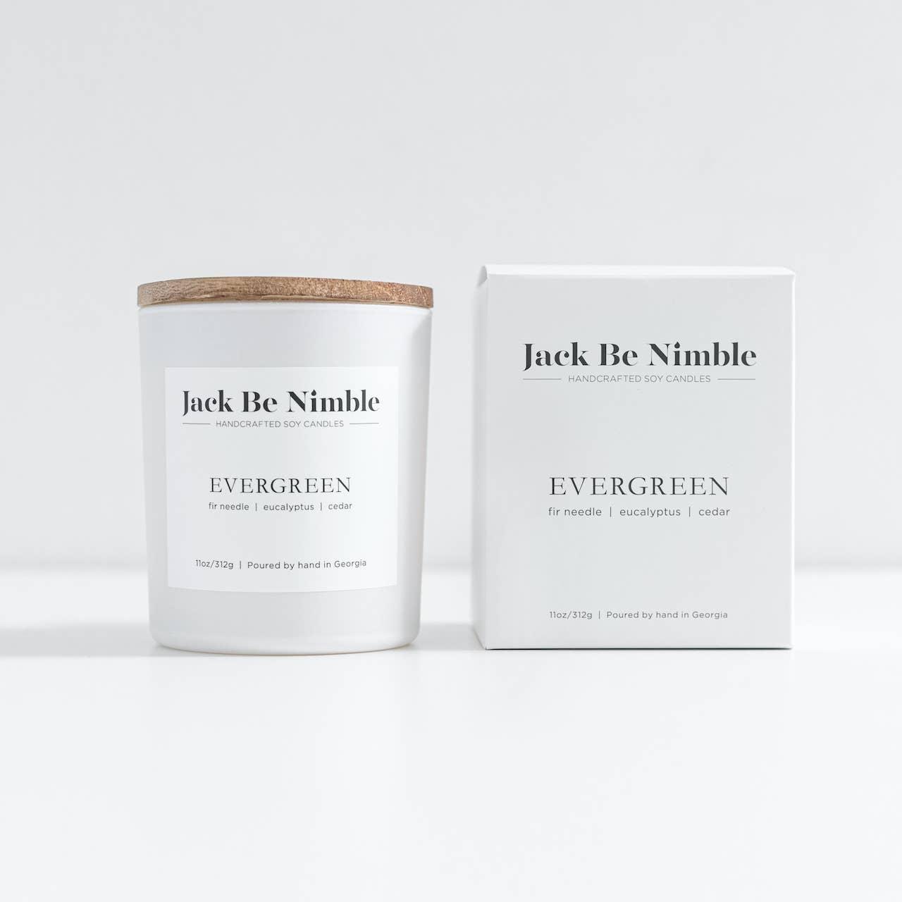 11oz Evergreen Soy Candle | Trada Marketplace