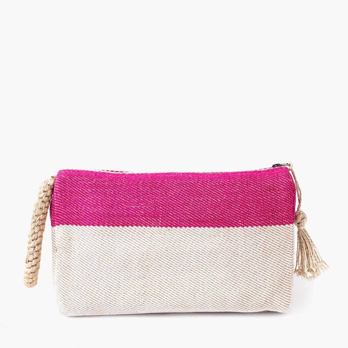 Block A Clutch - Pink | Trada Marketplace