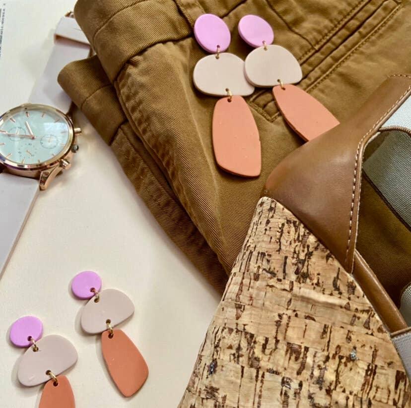 Terracotta Bloom Earrings | Trada Marketplace