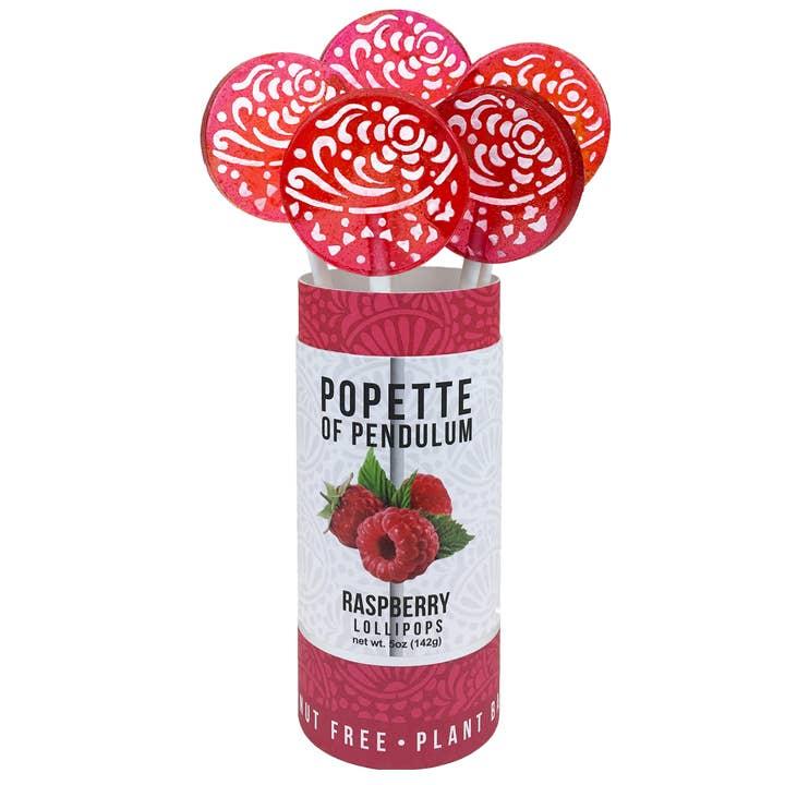 Raspberry Lollipop Canister | Trada Marketplace