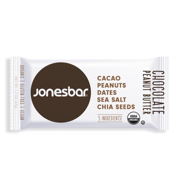 Jonesbar Chocolate Peanut Butter Organic Energy Bar | Trada Marketplace