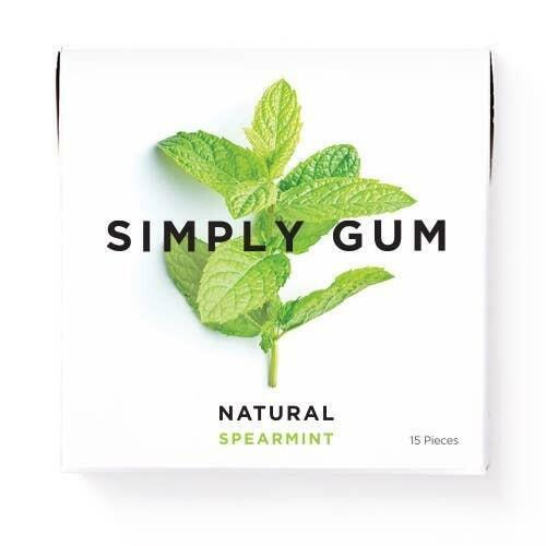 Spearmint Natural Chewing Gum | Trada Marketplace