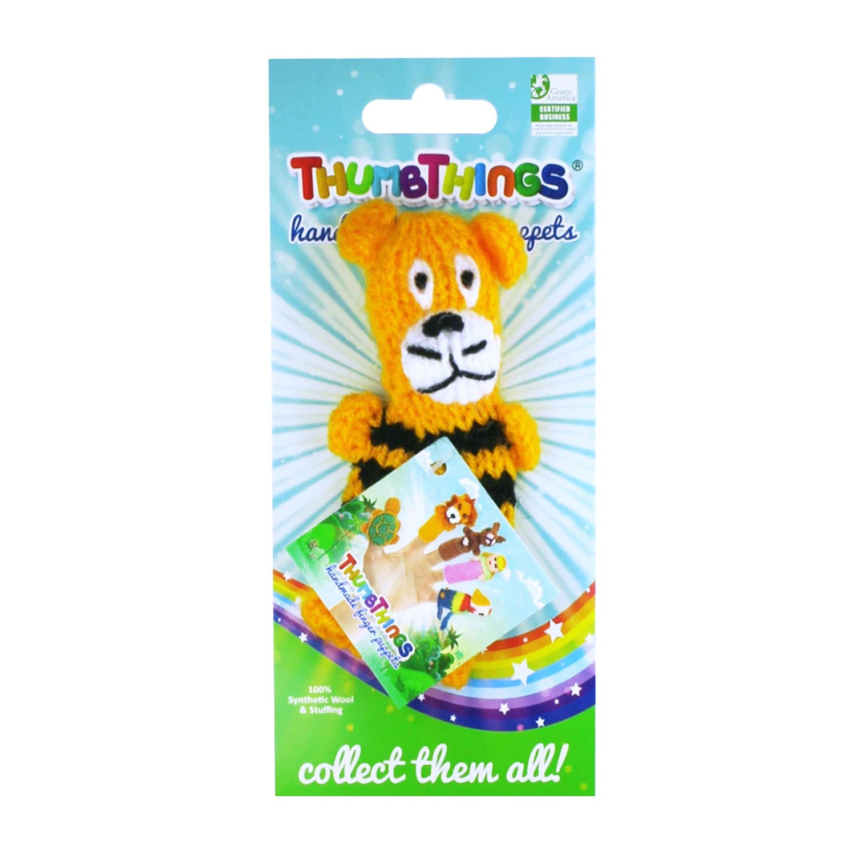Happy Tiger Finger Puppet   Trada Marketplace