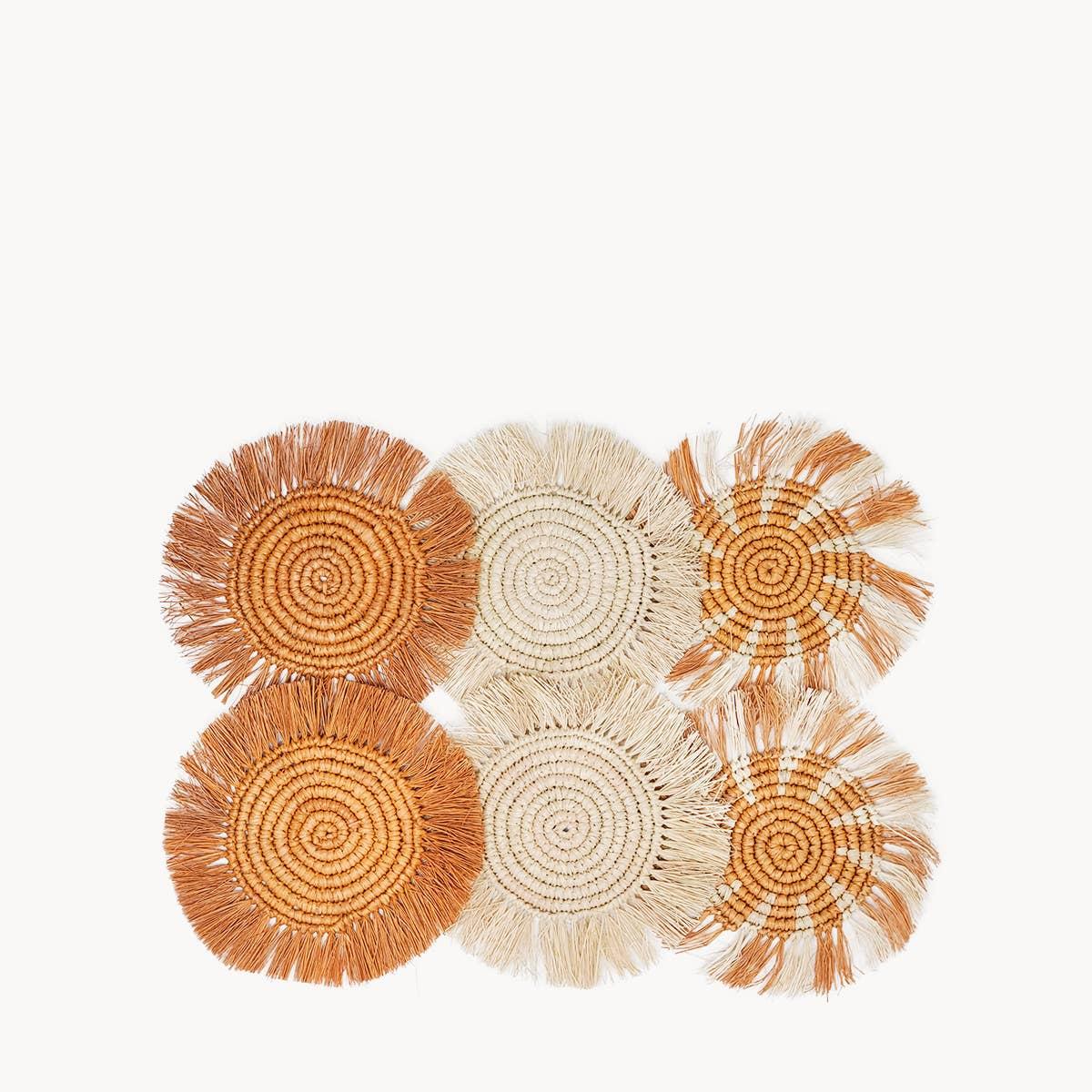 Flor Coaster - Natural | Trada Marketplace