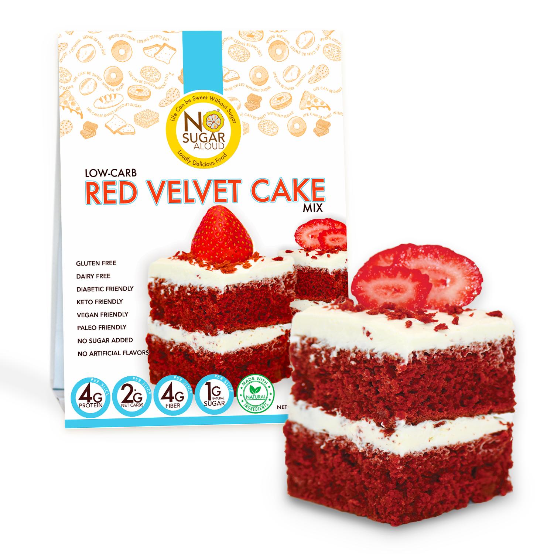 Low-Carb Velvet Cake Mix   Trada Marketplace
