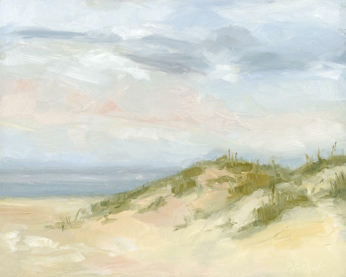 Spring Dunes Horizontal Canvas Print   Trada Marketplace