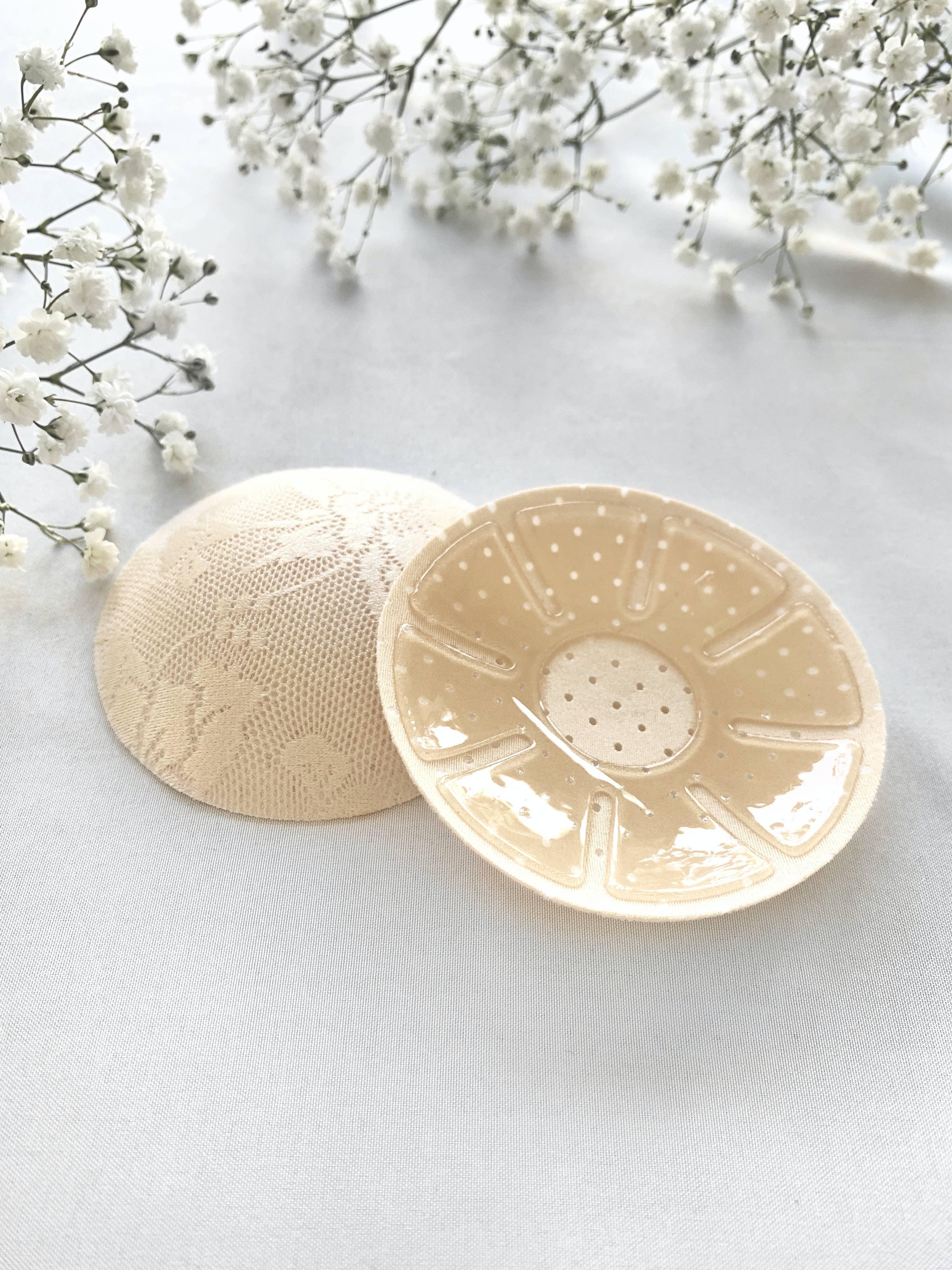 Circle Lace Nipple Cover - Light Beige | Trada Marketplace