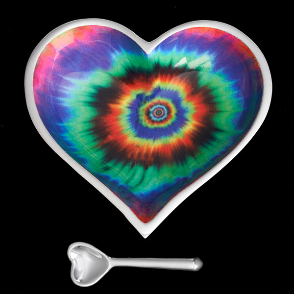 Groovy Heart with Heart Spoon   Trada Marketplace