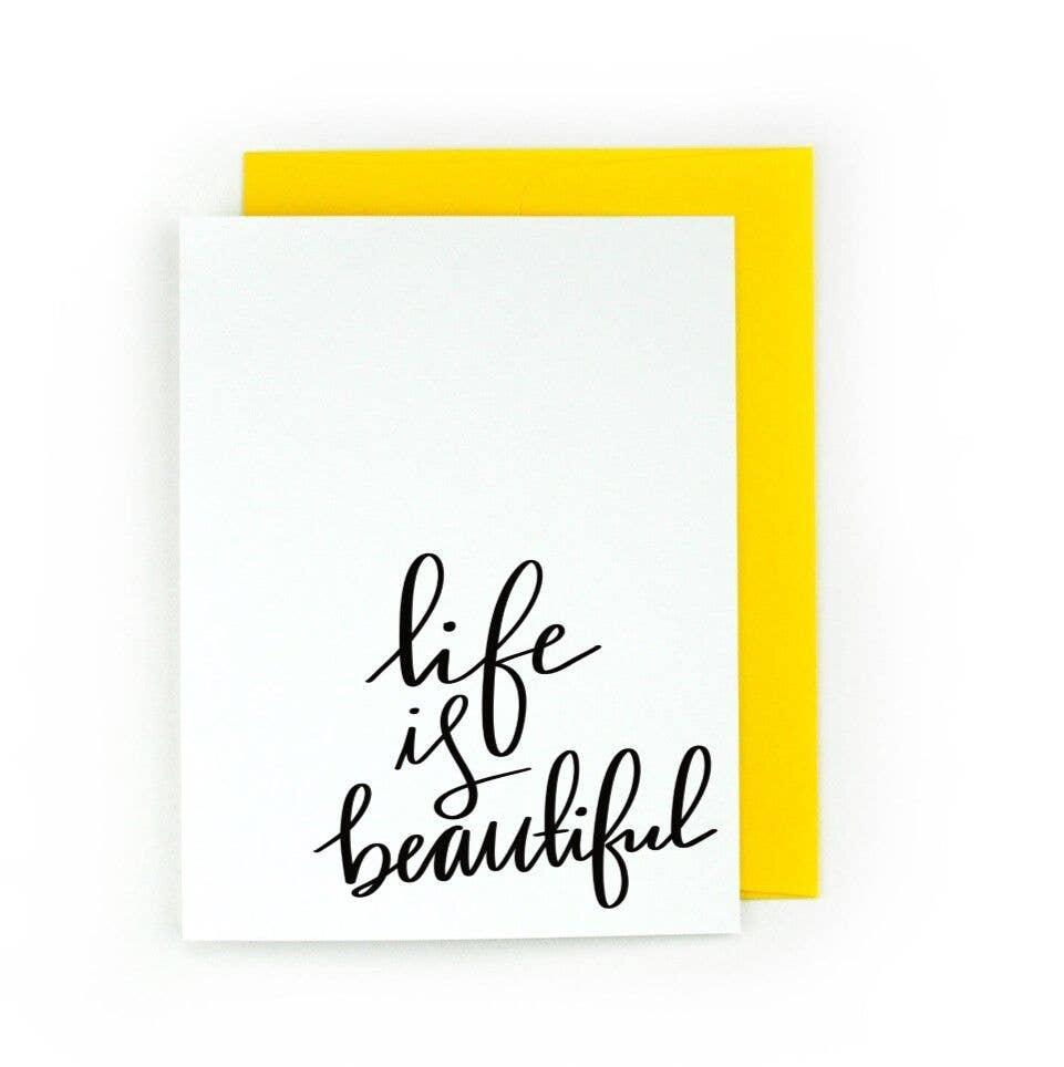 Life is Beautiful | Trada Marketplace