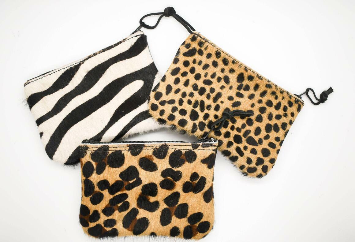 Animal Print Zipper Pouch | Trada Marketplace