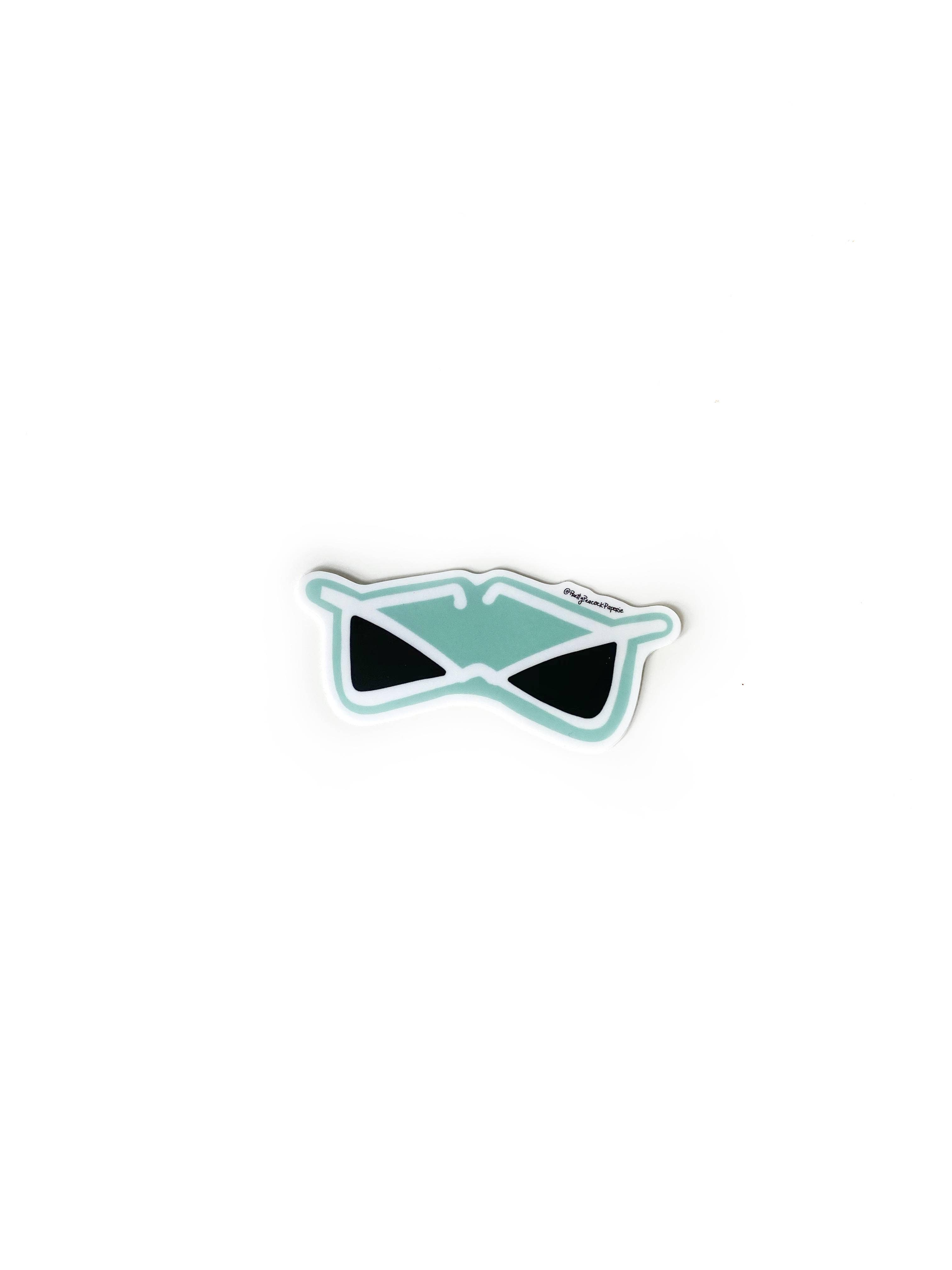 Retro Sunnies Sticker | Trada Marketplace