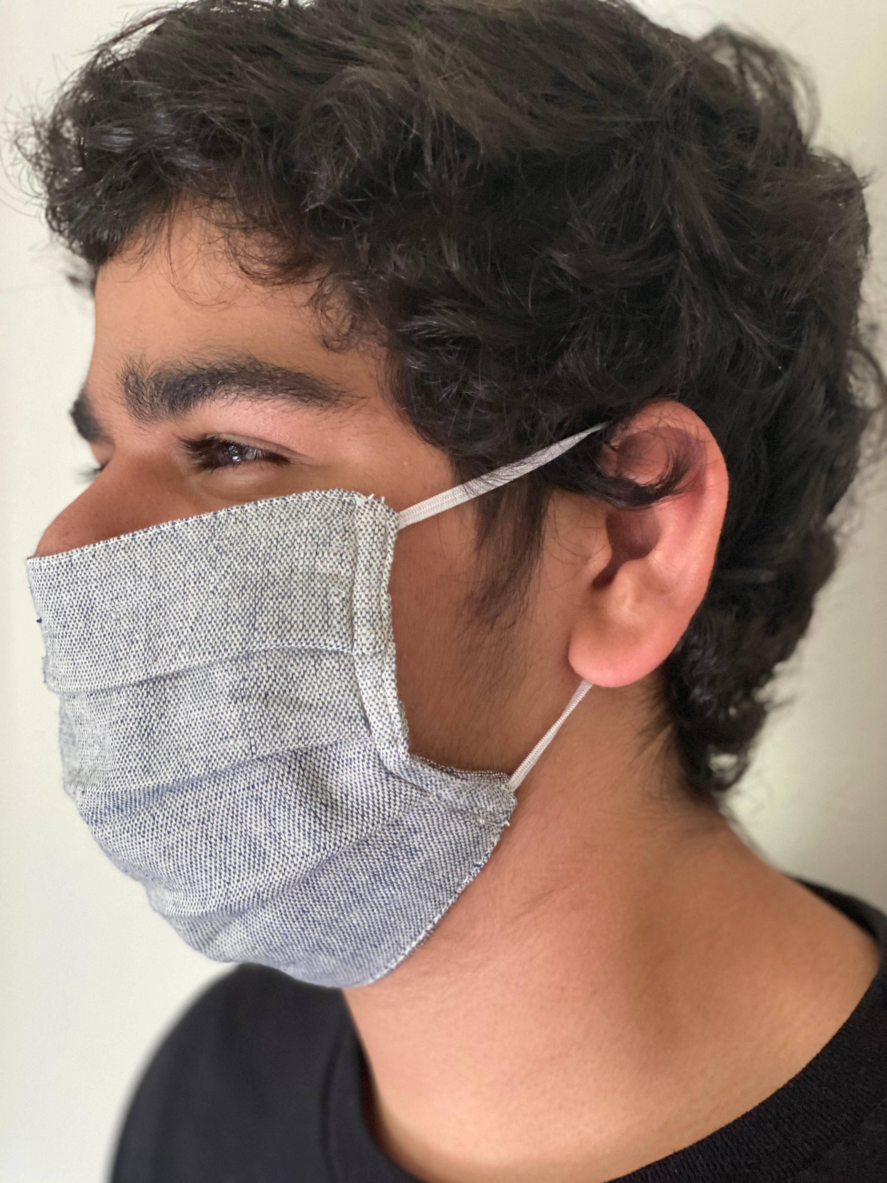KOMOS Reversible Face Mask (set of 2), Organic Cotton | Trada Marketplace